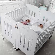 lits bébé pour jumeaux bonne nuit de micuna deux lits bébé kit