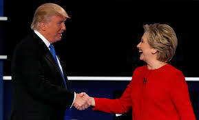 a review of donald trump u0027s first presidential debate by wealthy