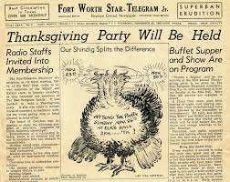 thanksgiving fourth thursday in november the american menu thanksgiving confusion
