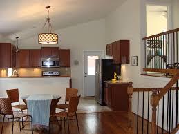 dining room light height home design