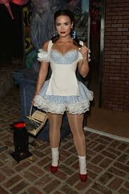 los angeles halloween party demi lovato at a halloween party in los angeles u2013 10 29 2016