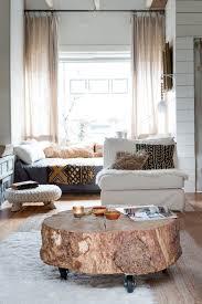 ambiance cocooning dans une maison des pays bas tree stump