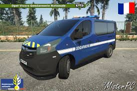 opel vivaro gendarmerie nationale gta5 mods com