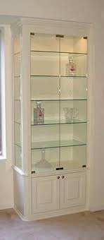 dining room glass cabinet built in wall curio cabinets www cintronbeveragegroup com