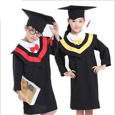 graduation gowns and caps bazzery children s performance clothing academic dress gown unisex