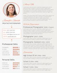 creative resume formats resume exles templates the best 10 creative resume template free