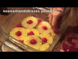 pineapple upside down cake from scratch super easy youtube