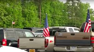 How To Hoist A Flag High Schoolers Hoist Us Flags To Support Military U2014and Their
