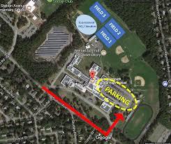 parking u0026 field map cape cod lacrosse