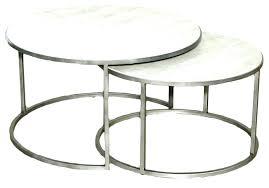 round nesting coffee table round nesting coffee table contemporary round nesting coffee table