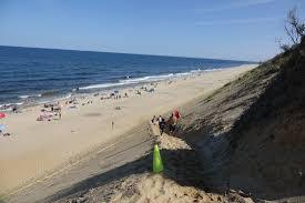 new beach path at cahoon hollow beach wellfleet