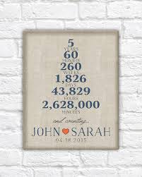 5 year wedding anniversary gift ideas 5 year anniversary one year wedding anniversary paper