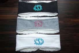 monogram headband custom monogram headband above and beyond creative designs