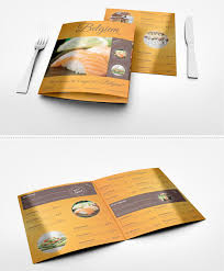 a collection of 30 creative brochure designs for restaurant