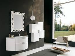 Modern White Bathroom Vanity by Bathroom Classic Modern White Bathroom Vanity With Drawers And