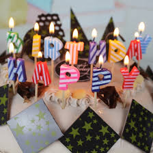 aliexpress com buy happy birthday letter candles colored letter