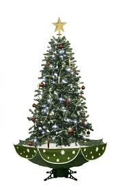 Christmas Tree Decorations Wholesale Uk by Green Snowing Cascading Christmas Tree With Lights U0026 Melodies Uk