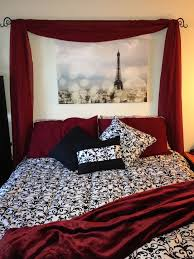 cool red and black paris bedroom 67 for interior designing home