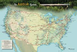 Zip Code Map Omaha by The Amtrak National Route Map 2396x1631 Mapporn