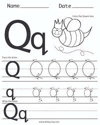 letter q worksheets for preschool worksheets