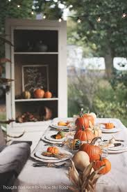 thanksgiving tablescape ideas yellow bliss road