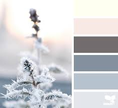 Winter Color Schemes by Arctic Frost Design Seeds