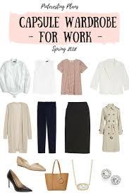 over 40 work clothing capsule spring capsule wardrobe for work 2018 pinteresting plans fashion blog