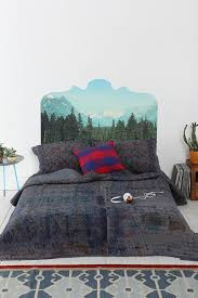best 25 photo headboard ideas on pinterest picture headboard magic mountain headboard wall decal urbanoutfitters