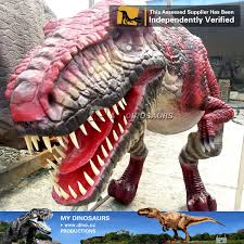 Dinosaur Costume Christmas Decoration by My Dino Christmas Decorative Costume Custom Men Children Suit