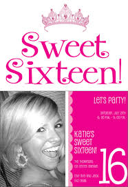 sweet 16 party invitations sweet 16 party invitations with some