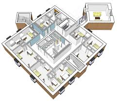 Dorm Floor Plans by College Dormitory Complex Anne Niedrach