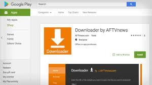 play store android downloader app now available in play store for android tv