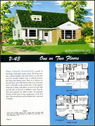 1949 national home style trends mid century house bungalow and