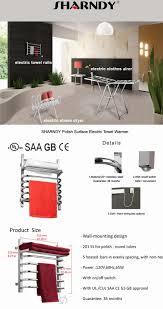 Bathroom Towel Rails Non Heated Sharndy Etw12 2 Us Eu Uk Plug Bathroom Towel Shelf Electric Heated