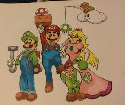 cousin asked draw mario characters oc imgur
