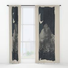 wolves window curtains society6