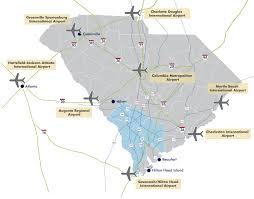 Hartsfield Jackson Atlanta International Airport Map by Southern Carolina Regional Development Alliance Airports