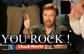 You Rock Meme - you rock chuck norris approves meme on memegen
