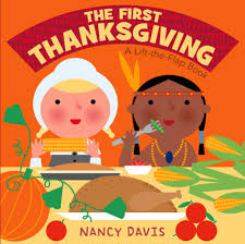 the thanksgiving a lift the flap book board book