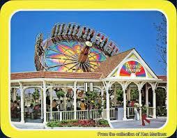 San Diego Six Flags Gorillas Don U0027t Blog Vintage Postcards Six Flags Magic Mountain