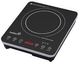 portable 1800 watt induction countertop cooktop burner by ivation