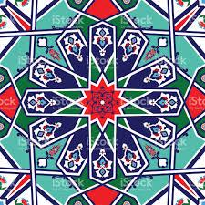 Pattern Ottoman Ottoman Turkish Design Pattern Vector Stock Vector More