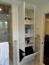 Bathroom Cabinet With Hamper Closet Hamper Houzz
