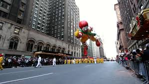 new york city ny november 24 ronald mcdonald balloon in the