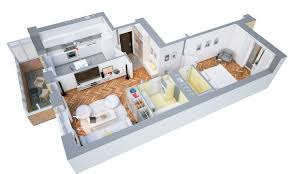 One Bedroom House Floor Plans 1 Bedroom House Plans Home Design Ideas Befabulousdaily Us