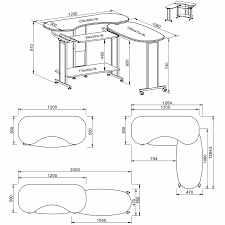 Corner Computer Desk Ebay by Folding Computer Table For Home Office Piranha Furniture Mako
