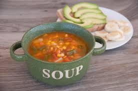 garden vegetable soup u0026 avocado toast super healthy kids