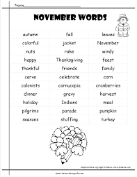 november lesson plans themes printouts crafts and holidays