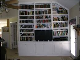 built in bookshelves plans around fireplace fence home office