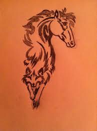 horse to wolf tattoo design drawing stilltheone 2017 nov 17